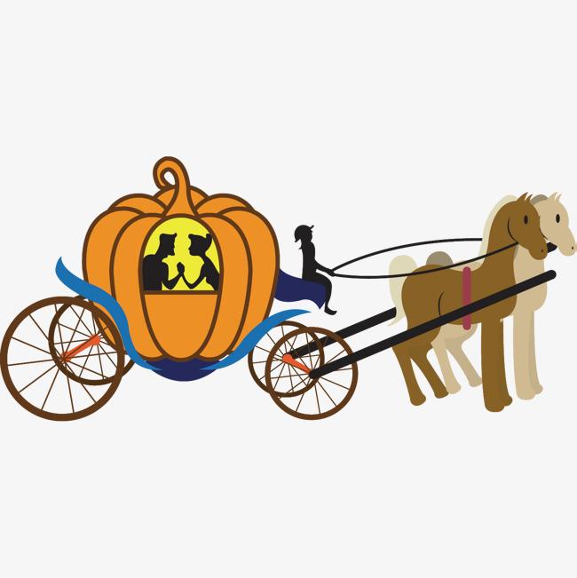 Carriage clipart logo. Cartoon cinderella pumpkin the