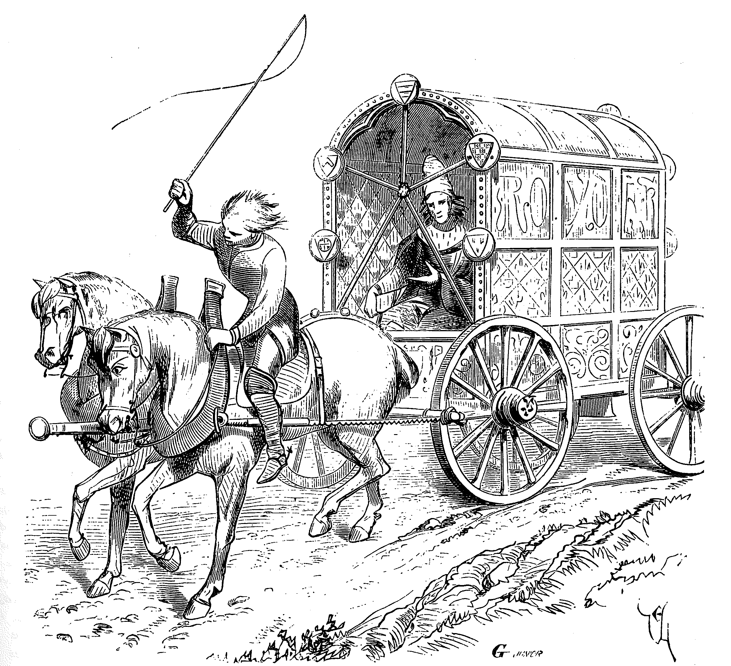 Vehicles pinterest and art. Carriage clipart medieval