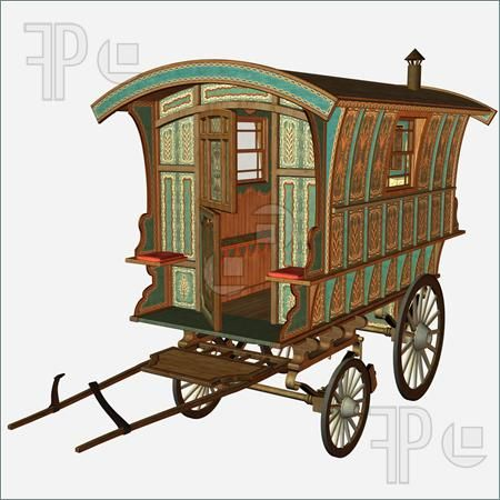 Carriage clipart medieval.  best d images