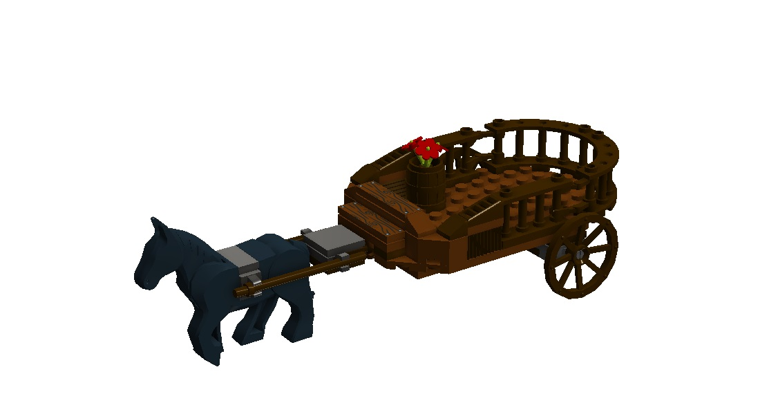 Lego ideas product wagon. Carriage clipart medieval