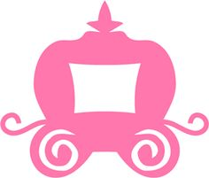 carriage clipart pink princess