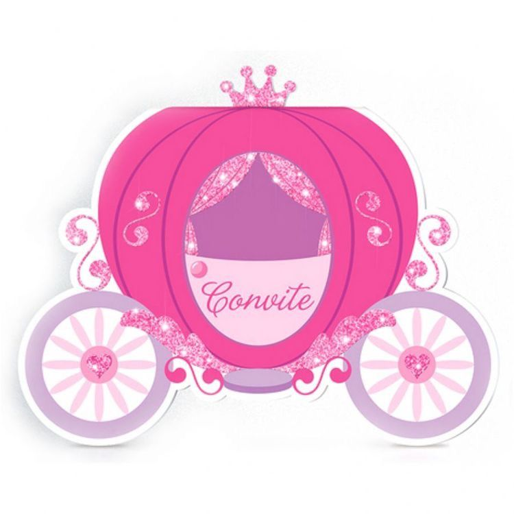 Pin on hh . Carriage clipart pink princess