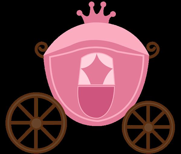 Princess castle baby shower. Wagon clipart cinderella