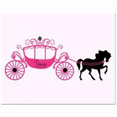 Carriage clipart pink princess. Castle cinderella ohmygirl us