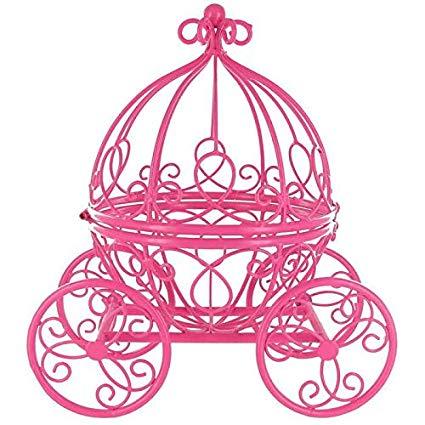 Carriage clipart pink princess. Amazon com hot metal