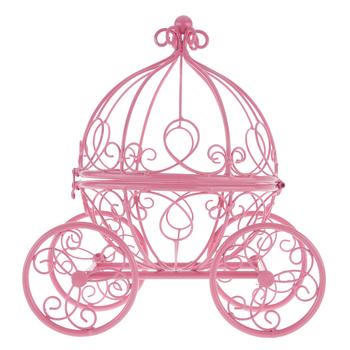 Carriage clipart pink princess. Metal decor hobby lobby