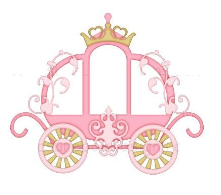 Pin by f tima. Carriage clipart pink princess