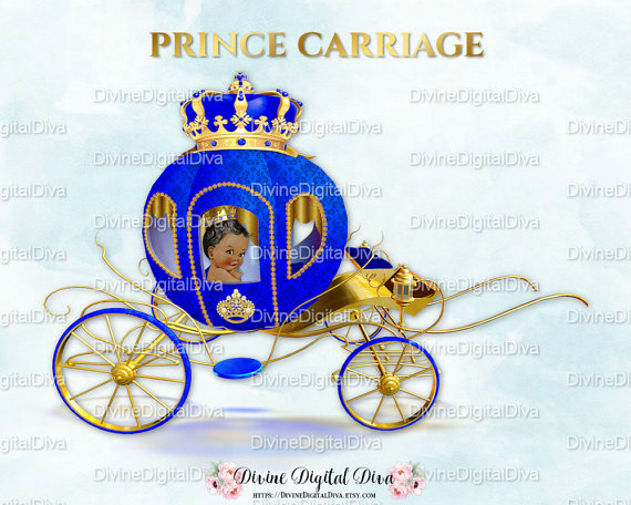 Carriage clipart prince charming. Little coach royal blue