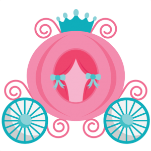 Carriage clipart princess. Svg my miss kate
