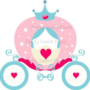 Carriage clipart princess. Panda free