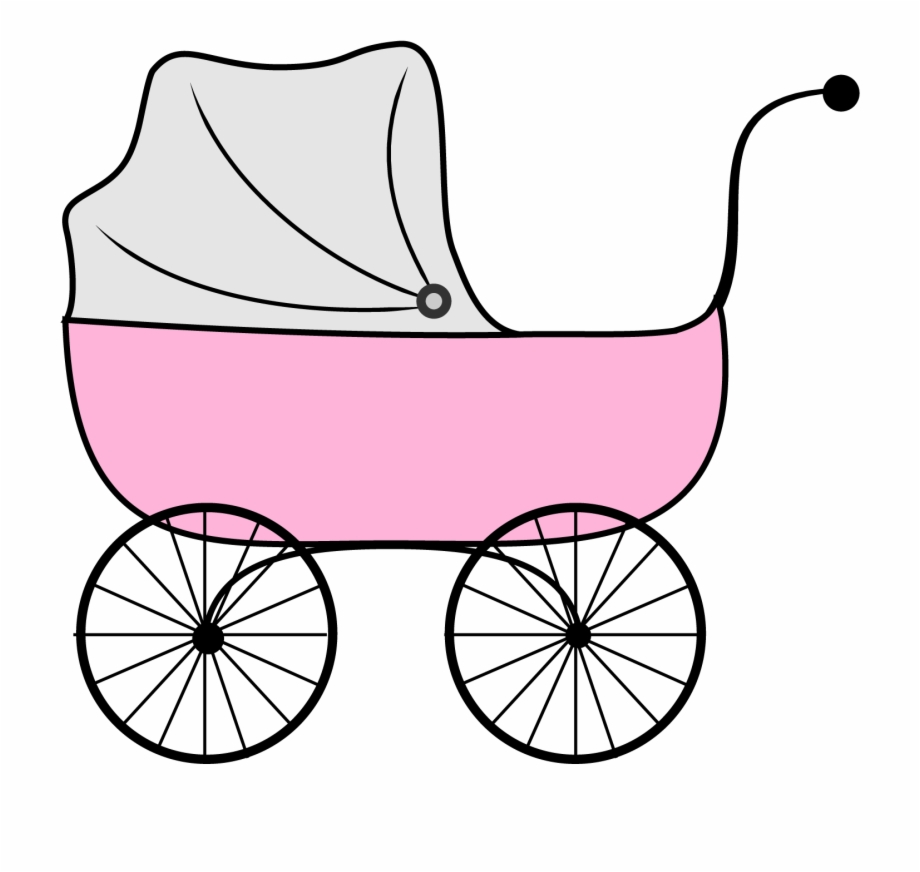 Baby boy shower engaging. Carriage clipart printable