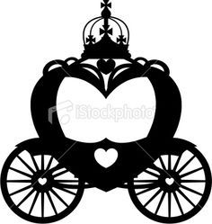 carriage clipart silhouette