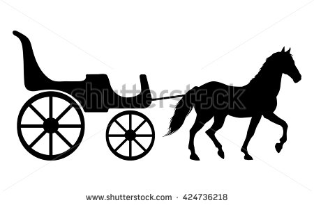 Carriage clipart silhouette. At getdrawings com free