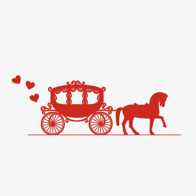 Loading happiness next of. Carriage clipart simple