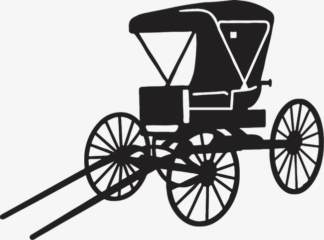 Black png image and. Carriage clipart sketch