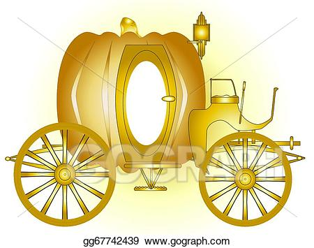 Carriage clipart vector. Art magic drawing gg