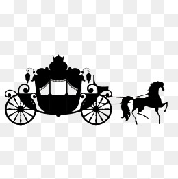 Png images vectors and. Carriage clipart wedding carriage