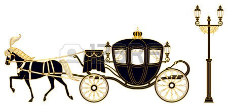 Gallery by mary. Carriage clipart wedding carriage