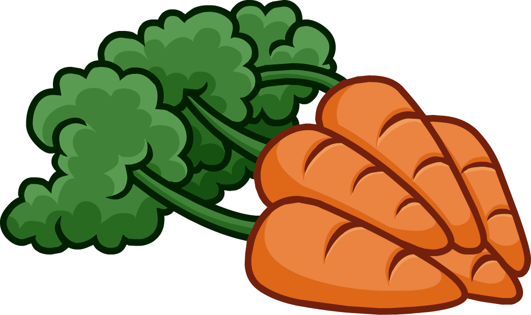 Image bunch of carrots. Tree clipart vegetable