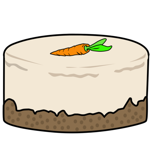 Cake cheesecake hornsby cakes. Carrot clipart carot