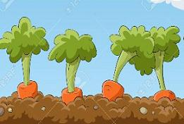 Carrot clipart carrot plant. Free plants tags gardening