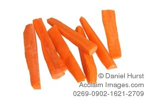 Carrot clipart carrot stick. Stock photo of sticks