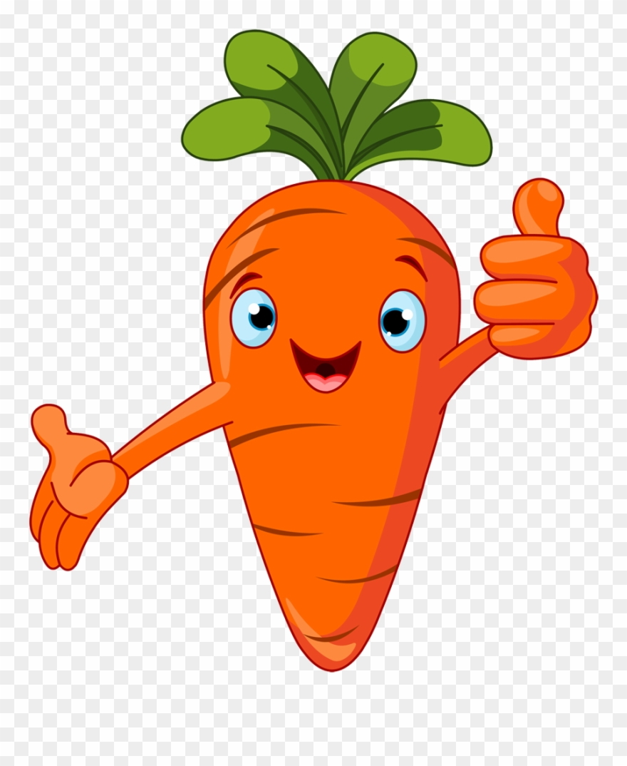 Scary vegetables png download. Carrot clipart cartoon