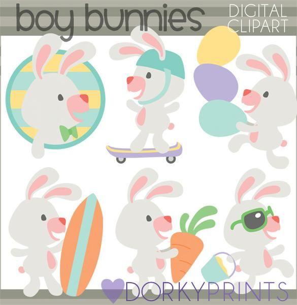 Boy bunnies cute easter. Carrot clipart spring