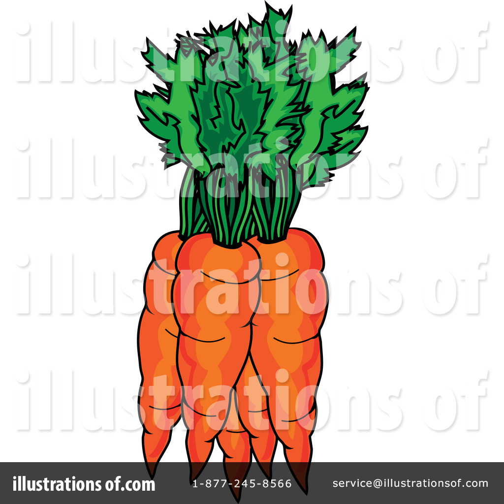 Carrot clipart broccoli. Carrots illustration by pams
