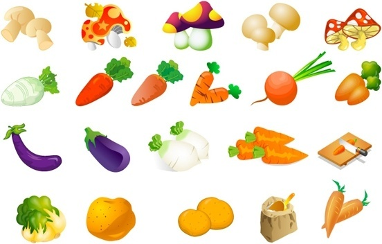 Clipart fruit veg. Free download incep imagine