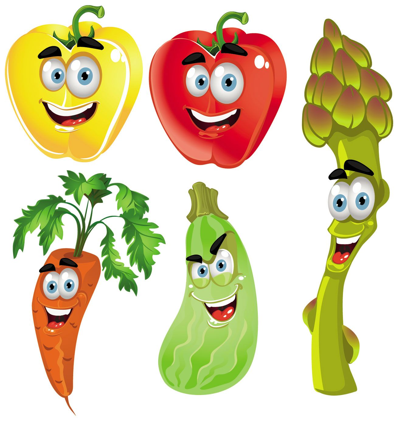Celery clipart animated. Fruits and vegetables cliparts