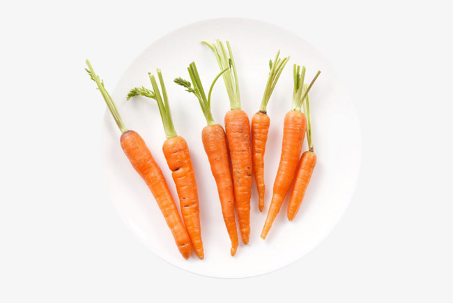 A plate of png. Carrots clipart red carrot