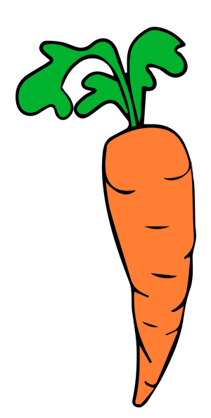 Carrots free panda images. 7 clipart carrot