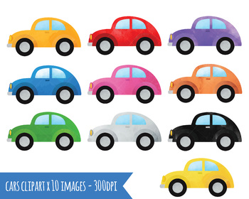 Cars clipart. Watercolor automobiles download png