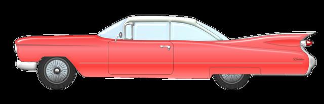 Vintage transparent png pictures. Cars clipart backside