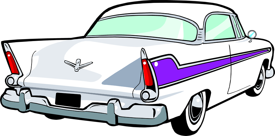 Vintage png pictures free. Clipart cars transparent background