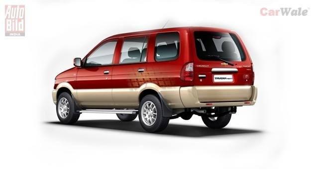 Chevrolet tavera images interior. Cars clipart backside