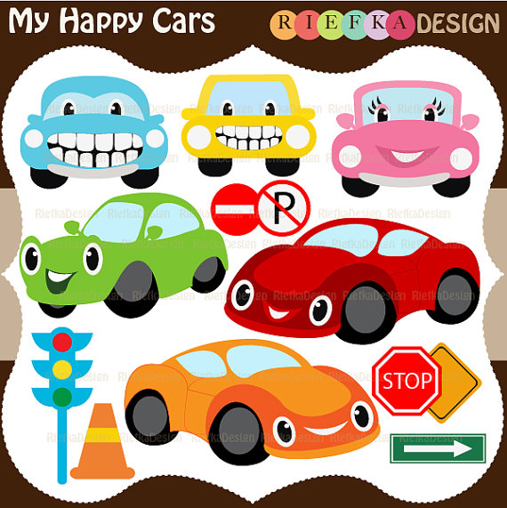 My happy . Cars clipart candy
