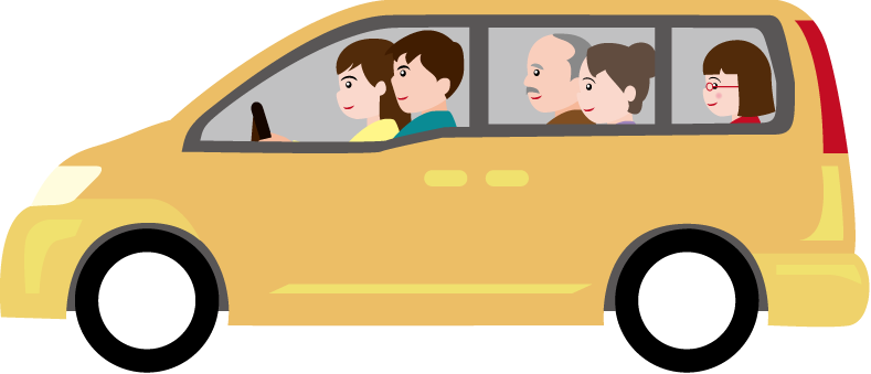 yellow color images. Clipart cars family car