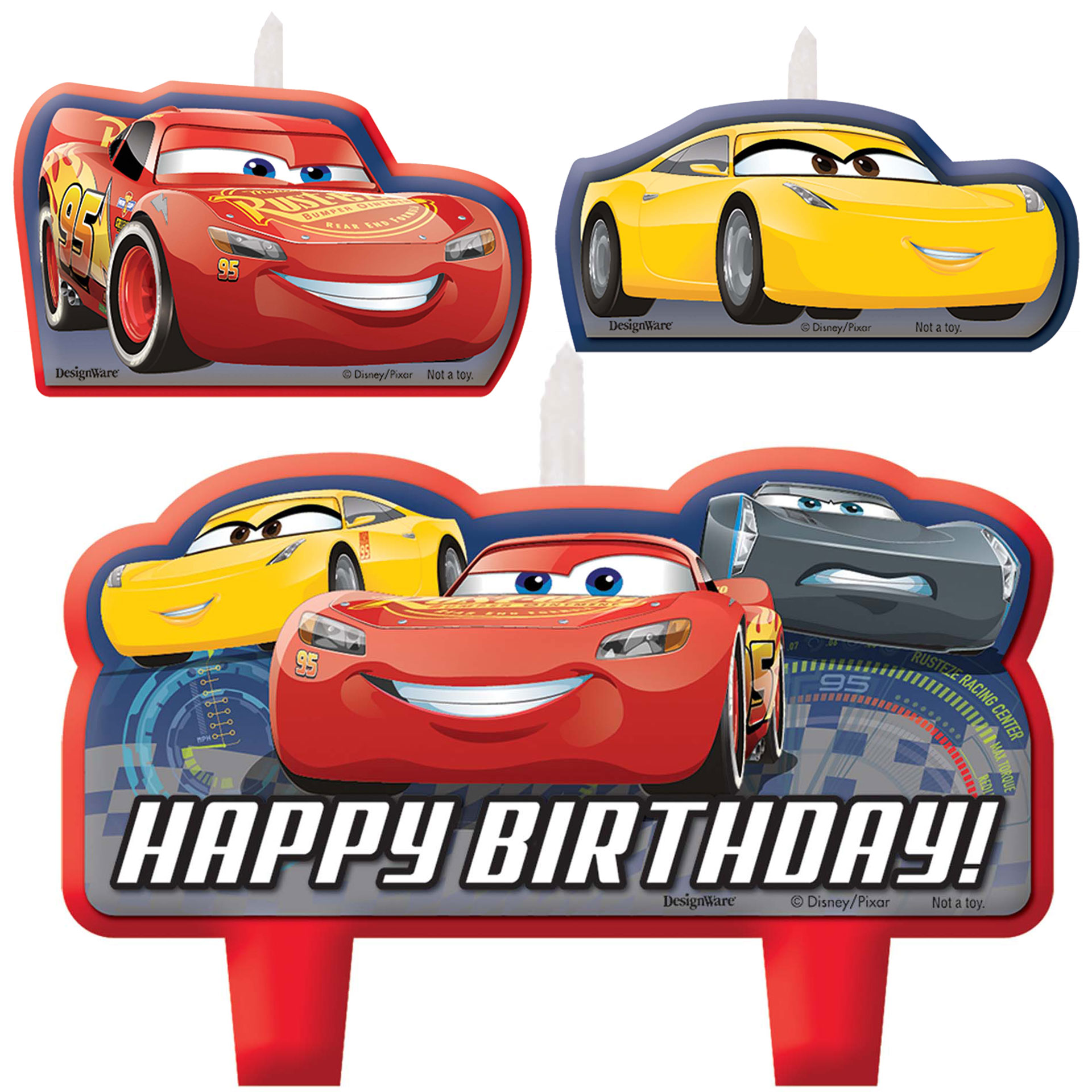 Cars clipart happy birthday. Disney party supplies theme