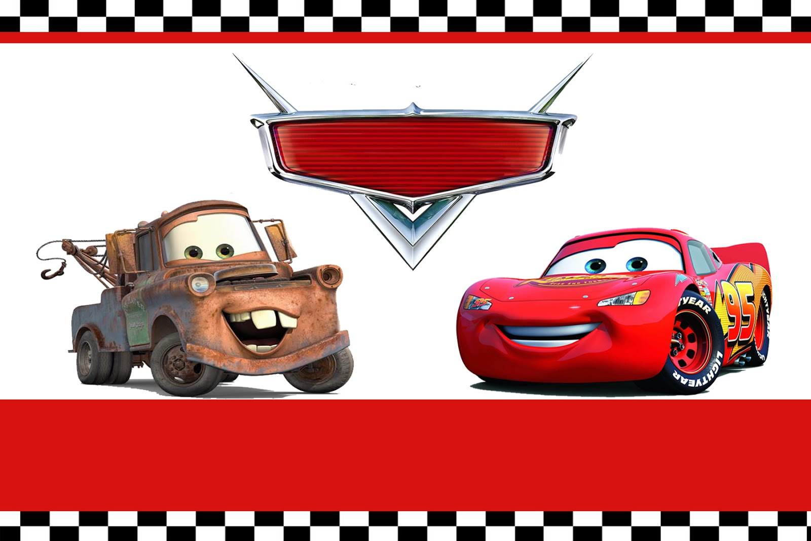 Free printable lightning mcqueen. Cars clipart happy birthday