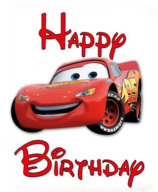 Pin by kathy beltran. Cars clipart happy birthday