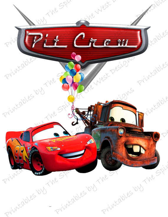 Cars clipart lightning mcqueen. Pit crew image use