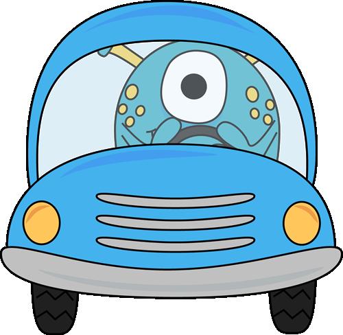 Car clip art images. Cars clipart monster