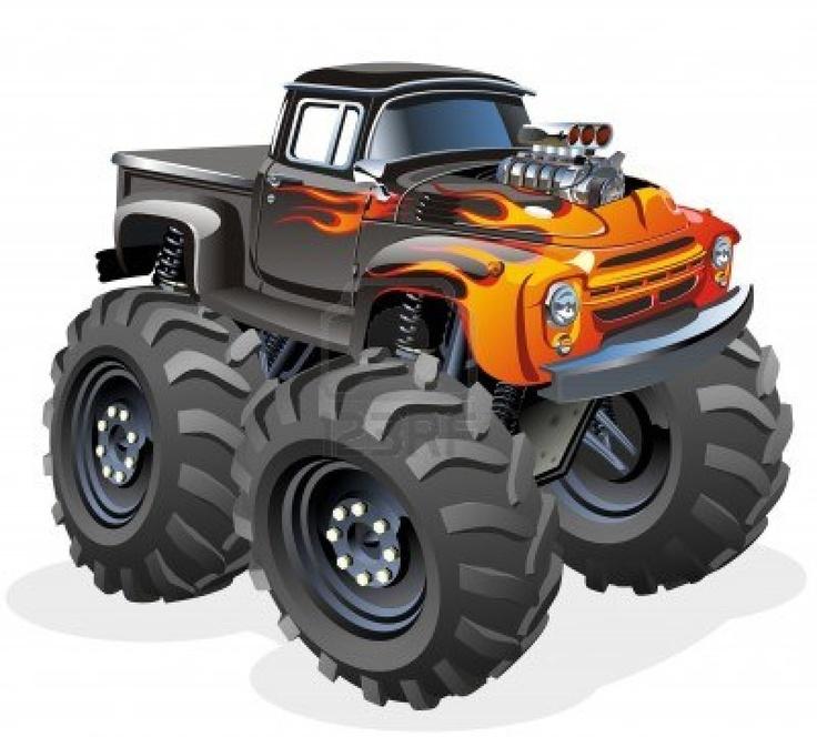 best cartoon images. Cars clipart monster