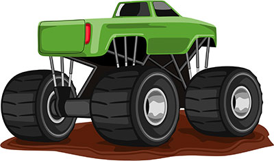 Free car animations images. Cars clipart monster