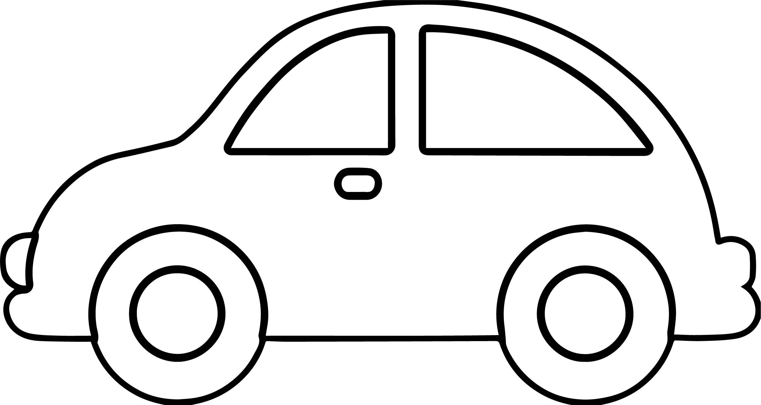 Car drawing free download. Clipart cars outline