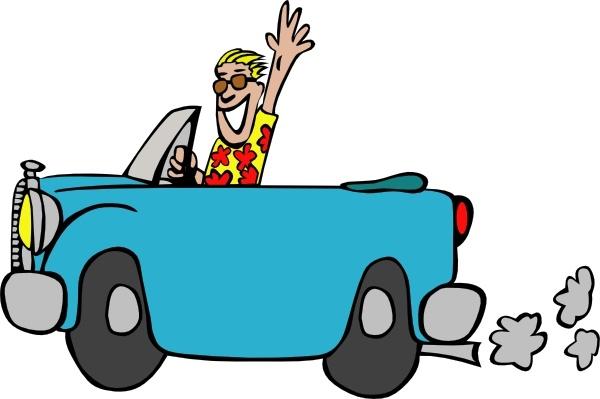 Driving clipart svg. Man car clip art