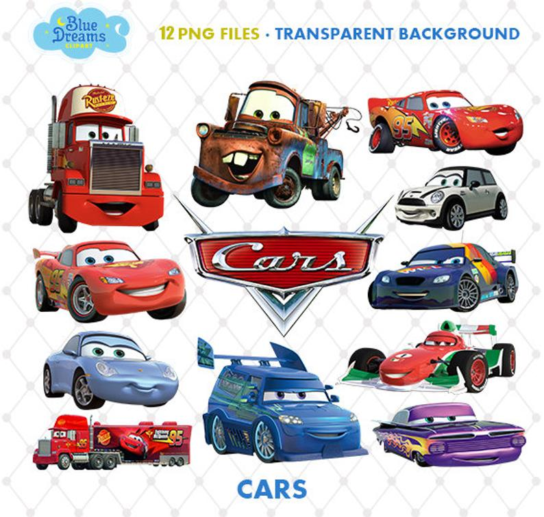 Png clip art files. Cars clipart printable