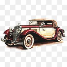 Old car png vectors. Cars clipart psd